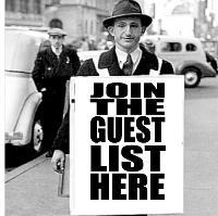 Saturday Night Aftershow Guestlist