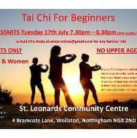 Beginners Tai Chi