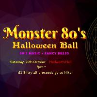 Monster 80s Halloween Ball