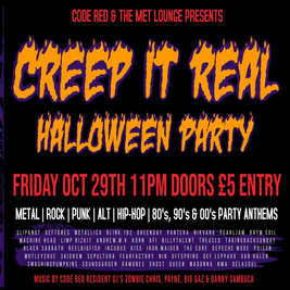 Code Red - Creep It Real Halloween Party