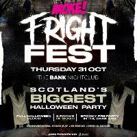 BROKE! Halloween - Fright Fest - The Bank Nightclub - Perth