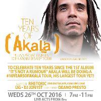 Akala - 10 years of Akala