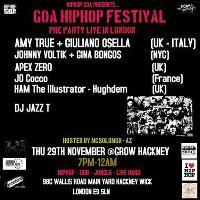 Goa Hip Hop Festival Launch Party