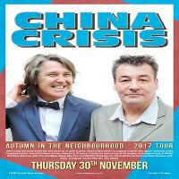 China Crisis - 2017 UK Tour