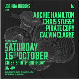 Joshua Brooks | Archie Hamilton, Chris Stussy & more