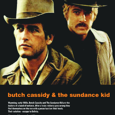 Film: Butch Cassidy and the Sundance Kid (1969) PG Biography, Cr