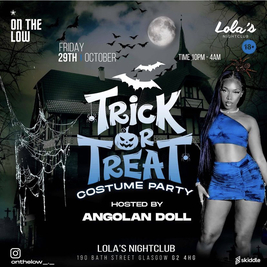 Trick or Treat Costume Party
