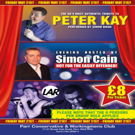 Peter Kaye Comedy Night