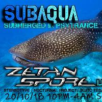 Zetan Spore live at SubAqua @ Suki10c