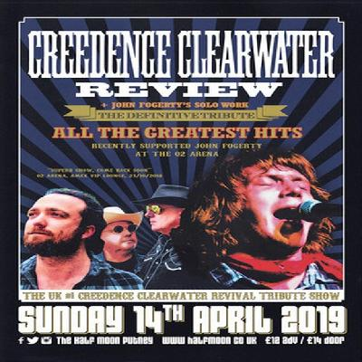 Creedence Clearwater Review: Tribute Band Live | The Half Moon