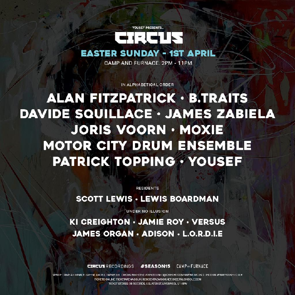 Yousef Presents Circus Easter Sunday