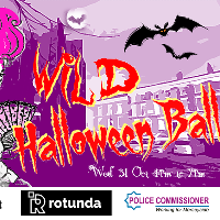 WILD Halloween Ball!  with tonnes of free activities