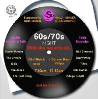 60s / 70s LIVE MUSIC NIGHT - Supporting Breast Cancer Care