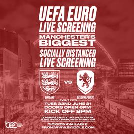 England vs Czech Republic - Uefa Euro Live Screening