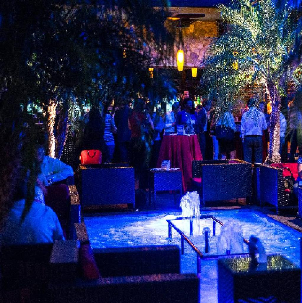 dl rooftop lounge nyc halloween party 2017 | the dl new york | sat