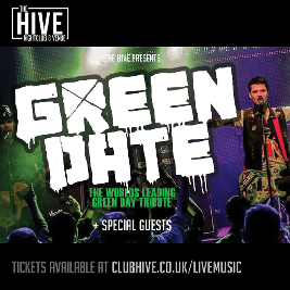 Venue: Green Date + Special Guests | The Hive Edinburgh  | Fri 31st May 2019