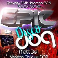 Epic & Disco Dog