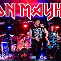 Iron Mayhem (Iron Maiden tribute) & support