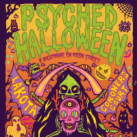 Psyched Spooktacular Halloween // 50 artists across 5 Rooms