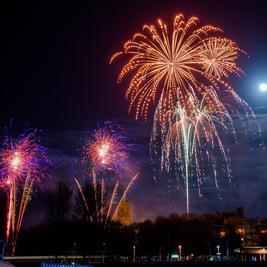 Heysham firework spectacular