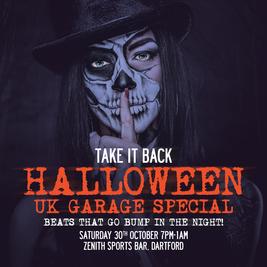 Take It Back Halloween UK Garage Special