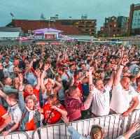England Vs Panama - World Cup Street Party