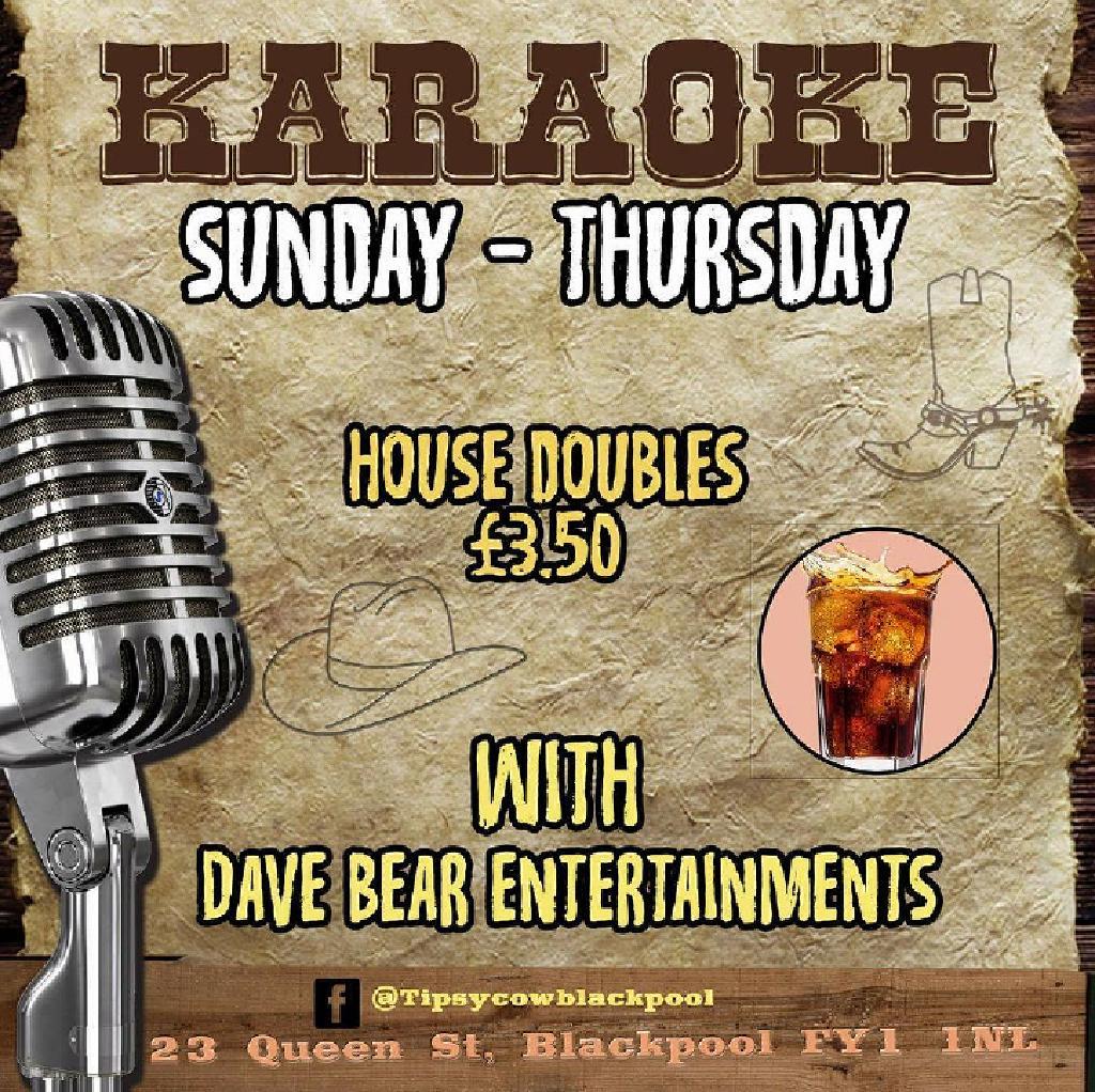 Dave Bear Karaoke Show