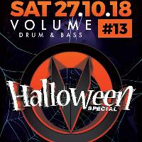 VOLUME DNB #13 HALLOWEEN SPECIAL - ED SOLO & PHIBES + MORE!