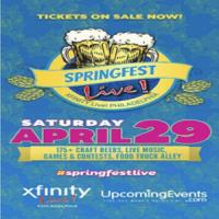 Springfest Live! 2017 - The Philadelphia Craft Beer and Music