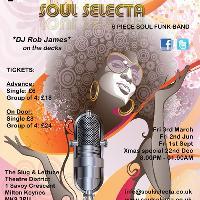 Soul Power @ The Slug with Soul Selecta & DJ Rob James