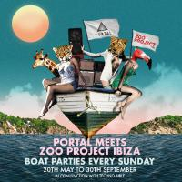 Portal meets The Zoo Project Ibiza - Boat Parties - Every Sunday in Ibiza
