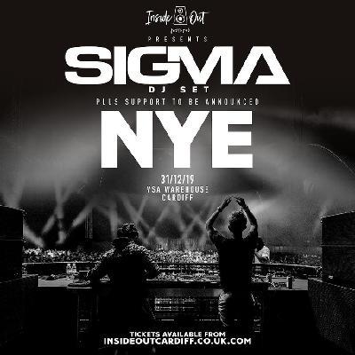 Inside Out presents SIGMA (DJ Set) | NYE at VSA Warehouse