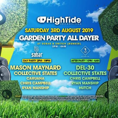 High Tide Closing Garden Party with Mason Maynard & Del-30 Tickets