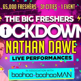 Hull - Big Freshers Lockdown - in association w BOOHOO MAN