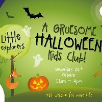 Little Explorers Gruesome Halloween Kids' Club