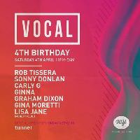 Vocal 4th Birthday