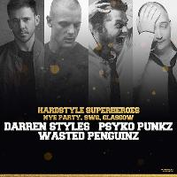 Hardstyle Superheroes New Years Eve