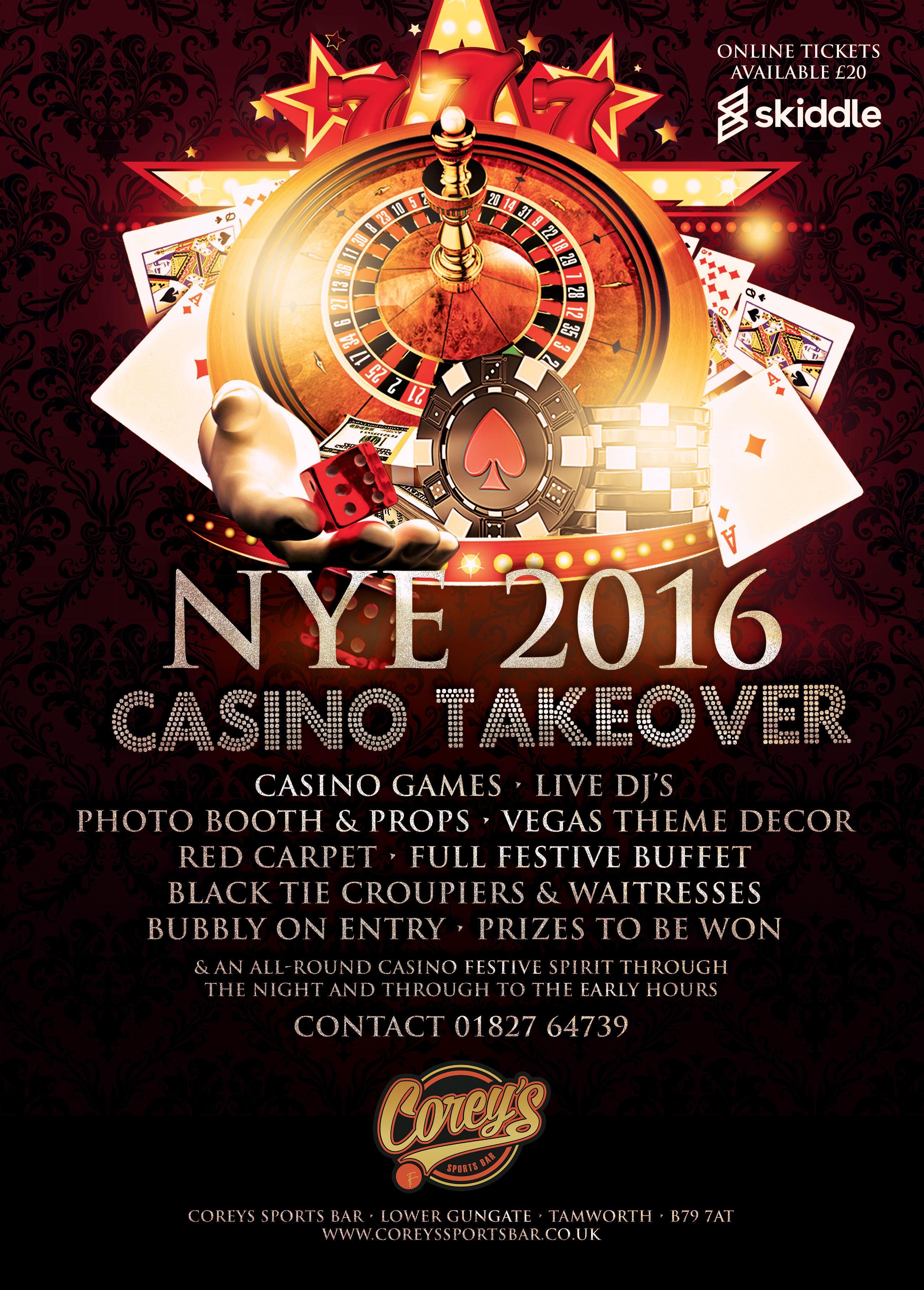Casino new years eve