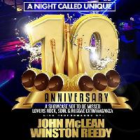A Night called Unique presents our 10th anniversary