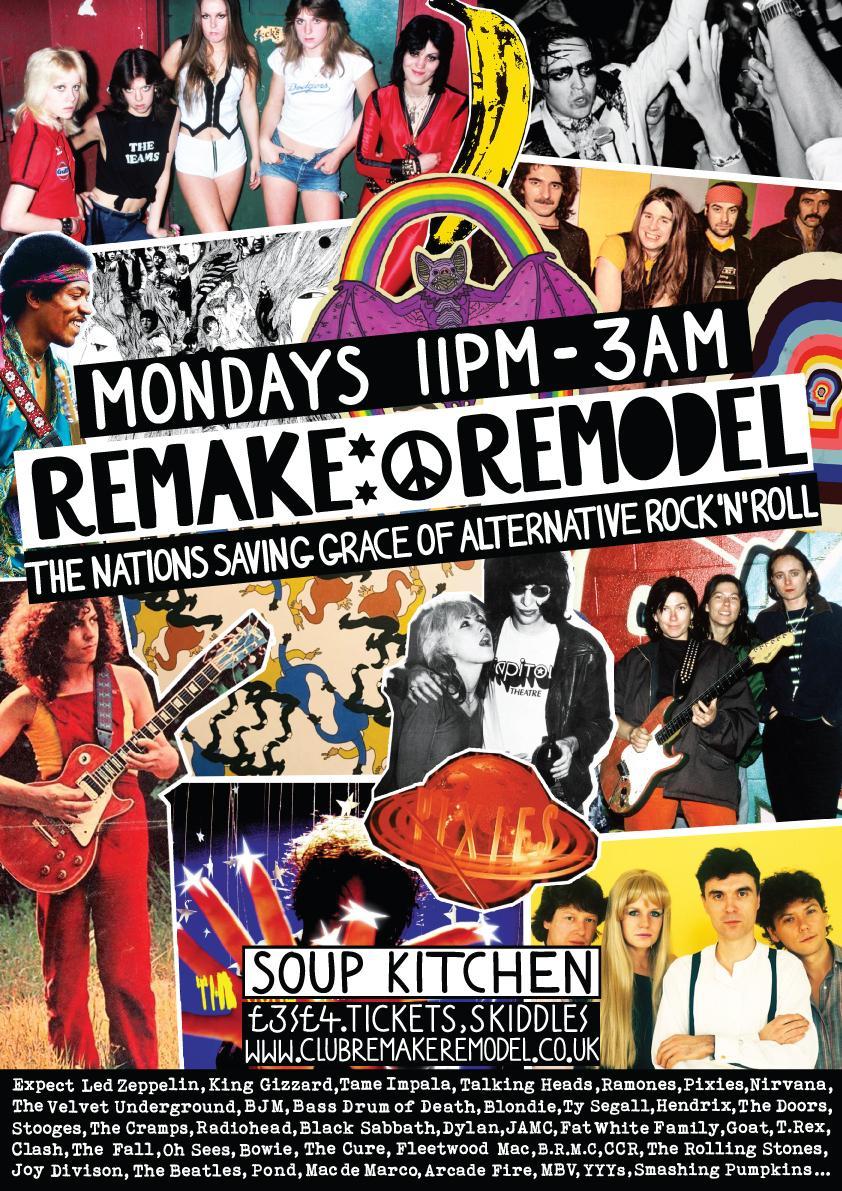 Remake Remodel at Soup Kitchen