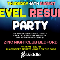 A Level Results Party
