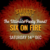 Festive Party Night with The Six on Fire Band