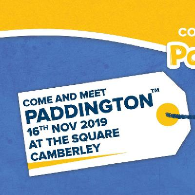 Come and Visit Paddington at The Square 16th November!