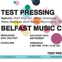 Testpressing x Belfast Music Club