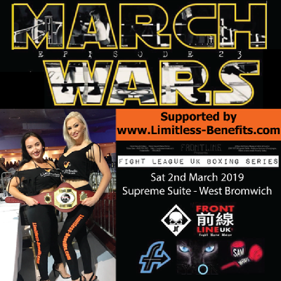 FLUK23 March Wars Championship Boxing Fights