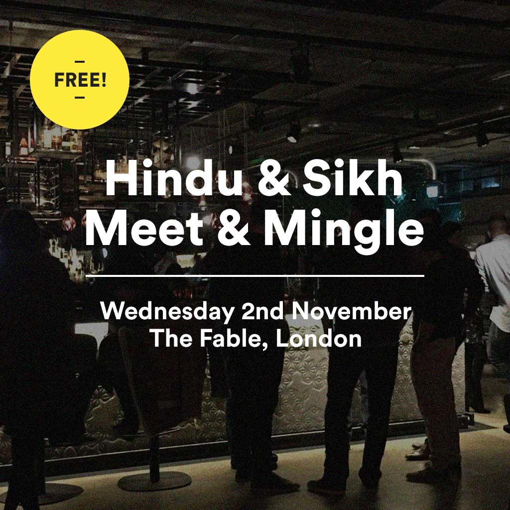 hindu dating events london Looking for hindu speed dating and asian singles dating events in london then join tantriclubcouk as we have the best asian speed dating events in london.