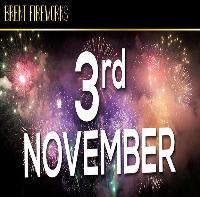 Brent Fireworks Display, Saturday 3rd November 2018