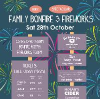 Family Bonfire & Fireworks