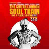 The South London Soul Train New Years Eve, 4 Floor, 5 Room Epic!