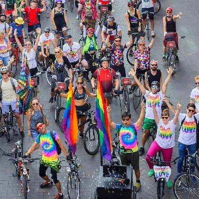 IBikeLondon - Pride Ride 2019 | Southbank Centre Belvedere